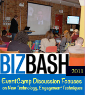 Biz Bash Chicago - EventCamp Discussion Focuses on New Technology, Engagement Techniques By Jenny Berg