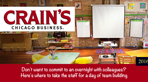 Crain's Chicago Business - Where to take your staff for a day of team building