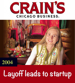 Crain's Chicago Business - Layoff leads to startup by Lisa Holton