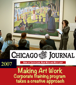 Chicago Journal - Making Art Work - Corporate training program takes a creative approach