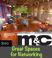 Meetings & Conventions Magazine - Great Spaces for Networking by Allen J. Sheinman