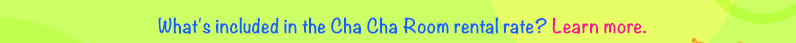 What's included in the ChaCha Meeting Room Rental?