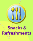 Snacks and Refreshments for your meeting